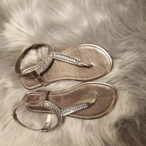 Beautiful Gold and Silver sandals